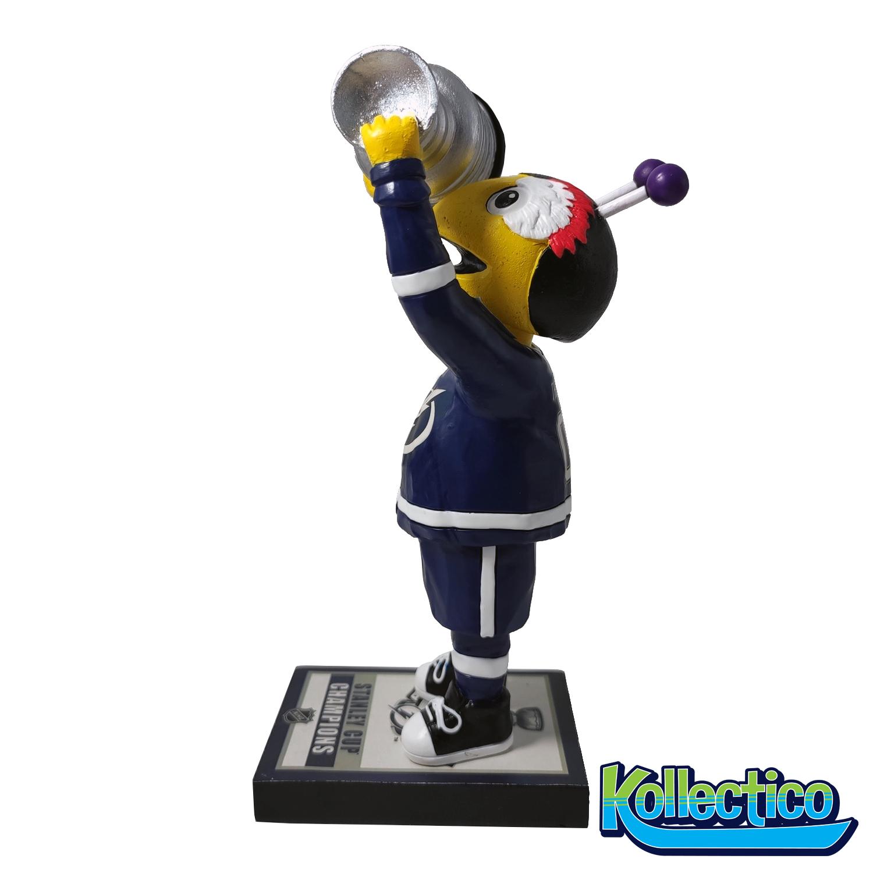 Tampa Bay Lightning ThunderBug Mascot Championship Bobblehead Gallery