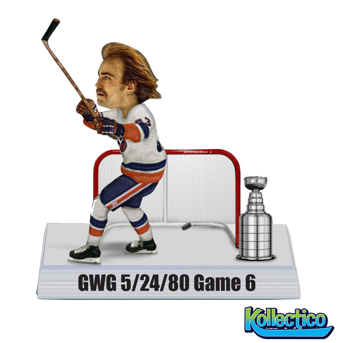 NY Islanders Bob Nystrom Bobblehead