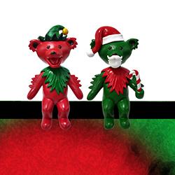 Grateful Dead Holiday Dancing Bear Bobble Buddy