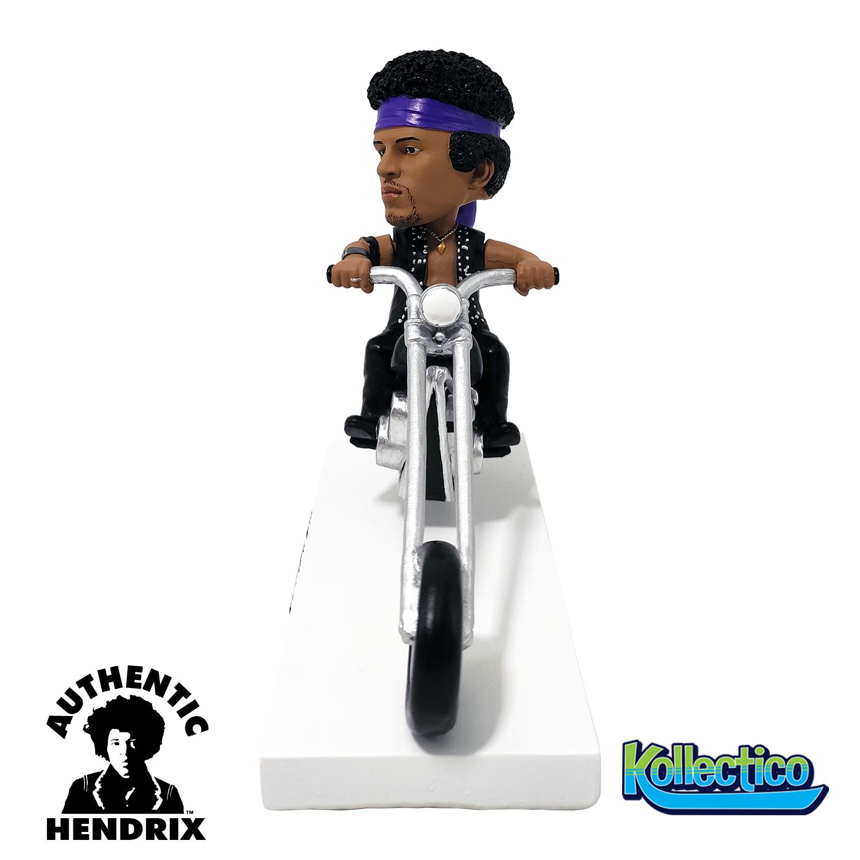 Jimi Hendrix on Motorcycle Bobblehead Gallery