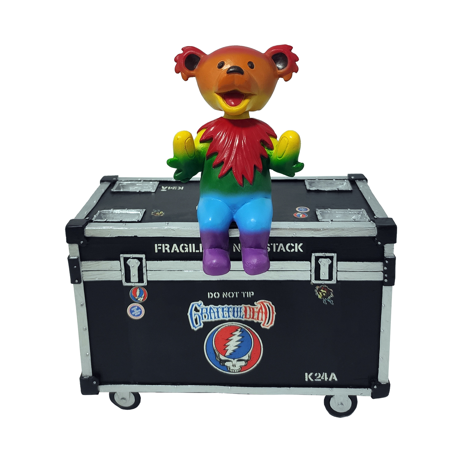 Grateful Dead Dancing Bear with Stage Box